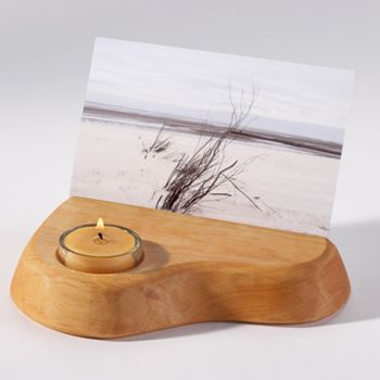 Image for <B>Card and candle holder with tealight </B><I> </I>