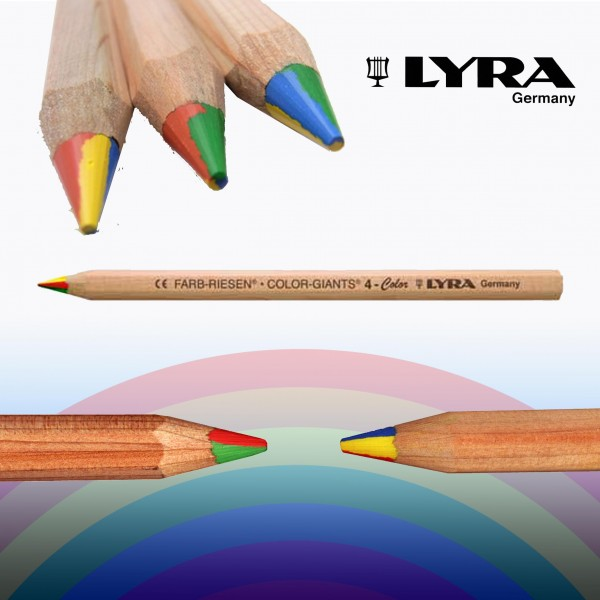 Image for <B>Rainbow Pencil </B><I> 4-colour giant or superferby</I>