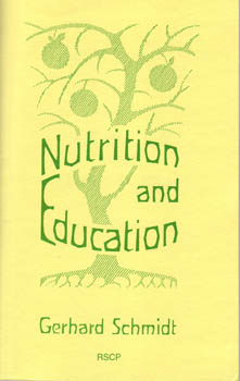 Image for <B>Nutrition and Education </B><I> </I>