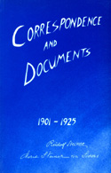 Image for <B>Correspondence and Documents (PB) </B><I> </I>