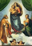 Image for <B>Sistine Madonna Poster - Medium full </B><I> 0109E</I>
