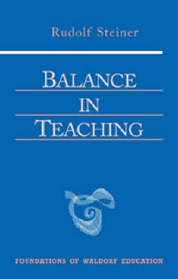 Image for <B>Balance in Teaching </B><I> </I>