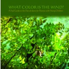 Image for <B>What Color is the Wind? </B><I> A Feel Guide to the Out-of-Doors for Parents with Young Children</I>