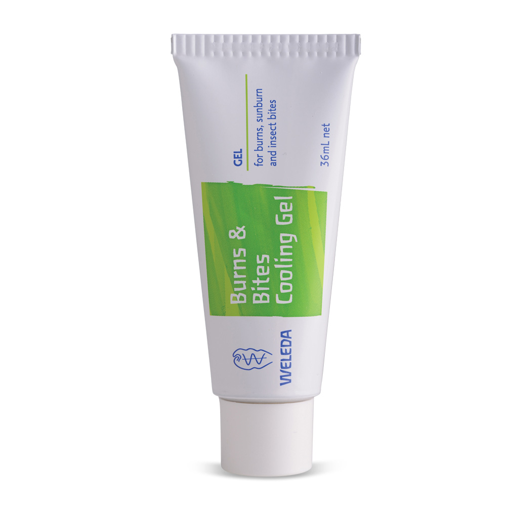 Image for <B>Weleda Burns & Bites Cooling Gel 36ml </B><I> </I>