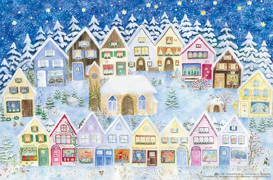Image for <B>A096 Christmas in the Elves' Village Advent Calendar </B><I> </I>