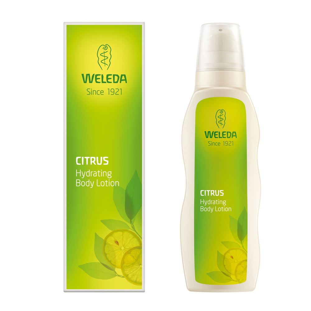 Image for <B>Weleda Citrus Hydrating Body Lotion 200ml </B><I> Hydrating - for normal skin</I>