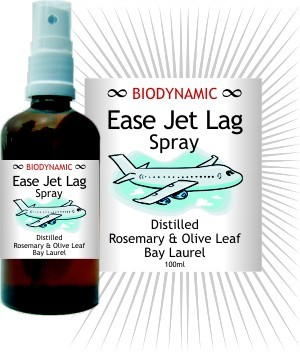 Image for <B>Biodynamic Ease Jet Lag Spray </B><I> </I>