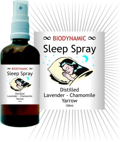 Image for <B>Biodynamic Sleep Spray Hydrosol </B><I> </I>