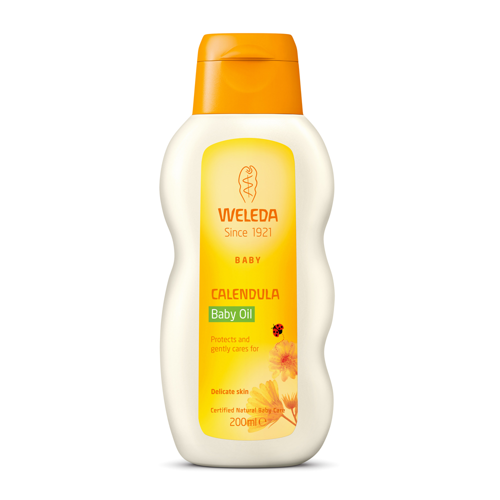 Image for <B>Weleda Calendula Baby Oil, 200ml </B><I> </I>