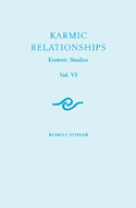 Image for <B>Karmic Relationships - Vol. VI </B><I> Esoteric Studies</I>