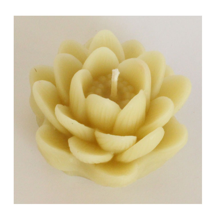 Image for <B>Candle, Large Lotus </B><I> </I>