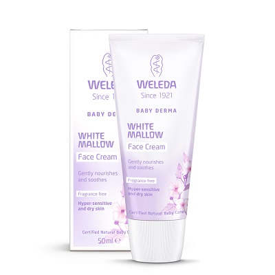Image for <B>Weleda White Mallow Face Cream </B><I> Baby Derma</I>