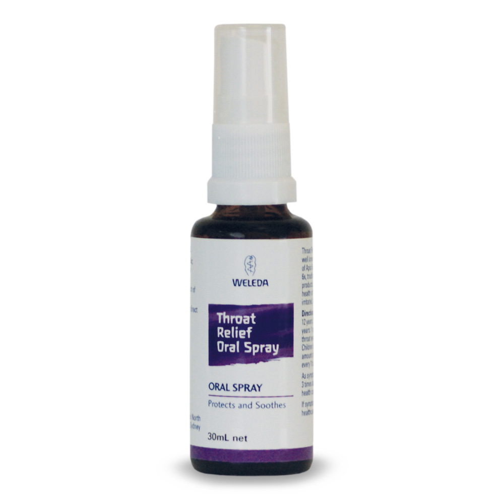 Image for <B>Weleda Throat Relief Oral Spray </B><I> </I>