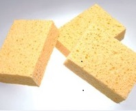 Image for <B>Viscose Sponges 8.5x 7.0x3.5cm.Set Of 3 </B><I> </I>