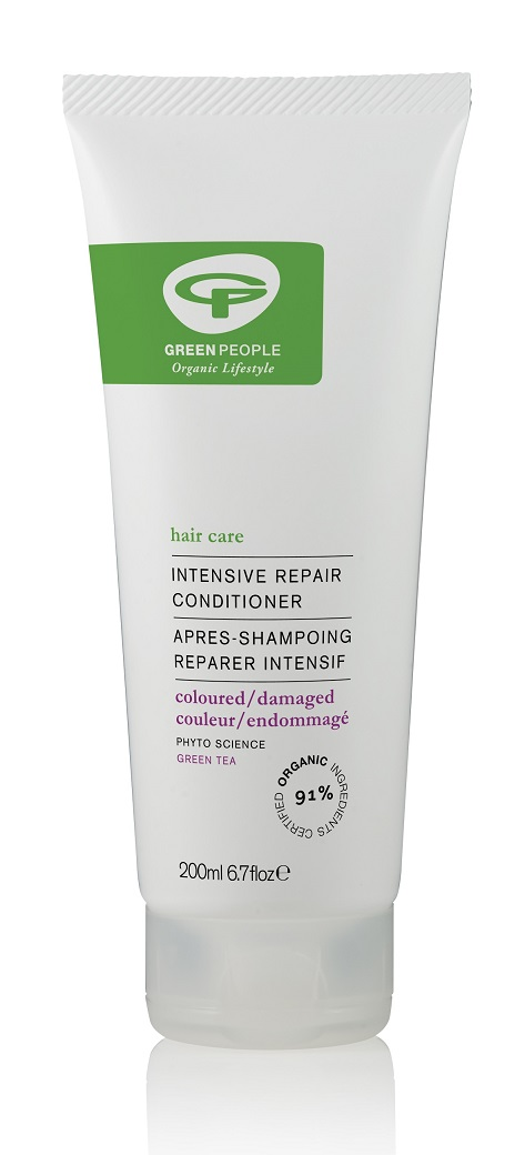 Image for <B>Green People Intensive Repair Conditioner 200ml </B><I> Shine-boosting conditioner for coloured or dry hair</I>