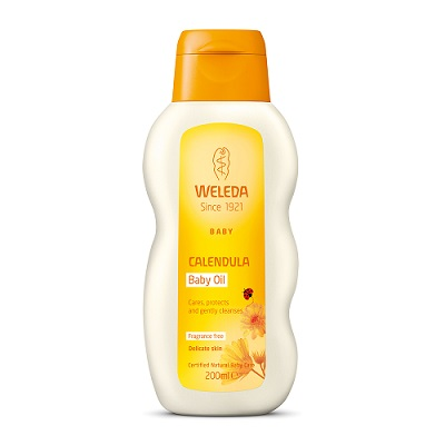 Image for <B>Weleda Calendula Baby Oil - Fragrance Free, 200ml </B><I> </I>