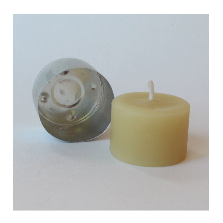 Image for <B>Luxmi Tealight 9 hr beeswax </B><I> </I>