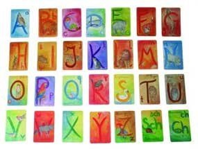<B>Waldorf Alphabet Cards </B><I> </I>