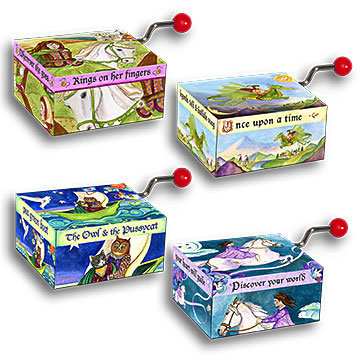 Image for <B>Mini Music Box - Storybook </B><I> </I>