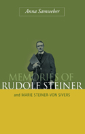 Image for <B>Memories of Rudolf Steiner </B><I> and Marie Steiner-von Sivers</I>