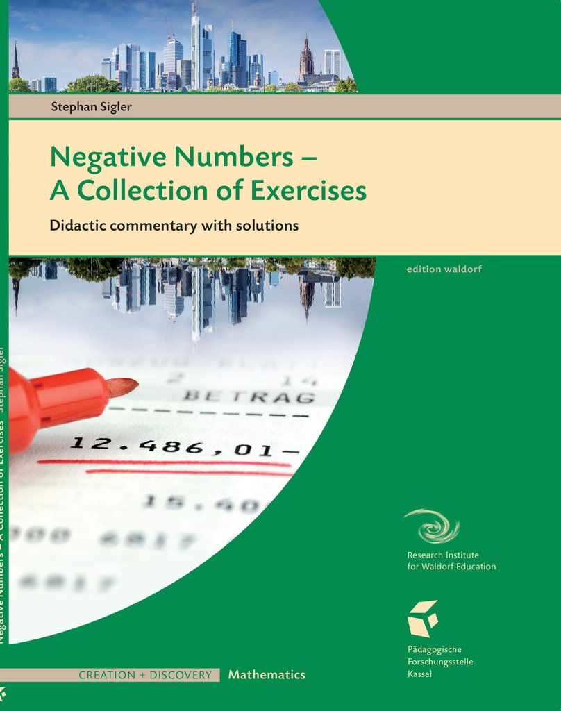 Image for <B>Negative Numbers - a Collection of Exercises </B><I> Teacher Workbook</I>