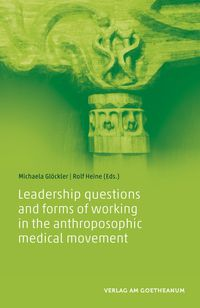 Image for <B>Leadership questions and forms of working in the anthroposophic medical movement </B><I> </I>