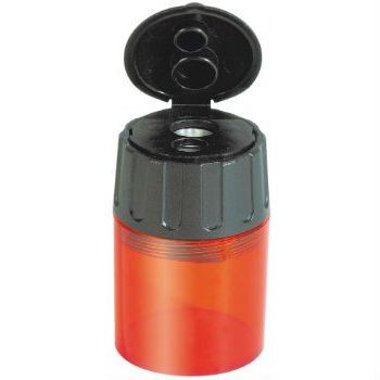 Image for <B>Lyra Twin-hole Barrel Sharpener plastic with metal sharpener inside </B><I> </I>