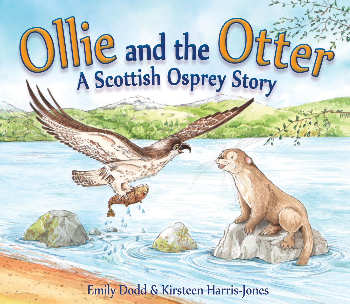 Image for <B>Ollie and the Otter </B><I> A Scottish Osprey Story</I>