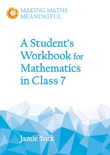 Image for <B>Student's Workbook for Mathematics in Class 7: A Classroom 10-Pack with Teacher's Answer Booklet </B><I> Making Math Meaningful</I>