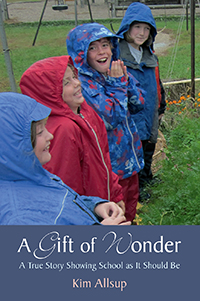 Image for <B>Gift of Wonder </B><I> A True Story Showing School as It Should Be</I>
