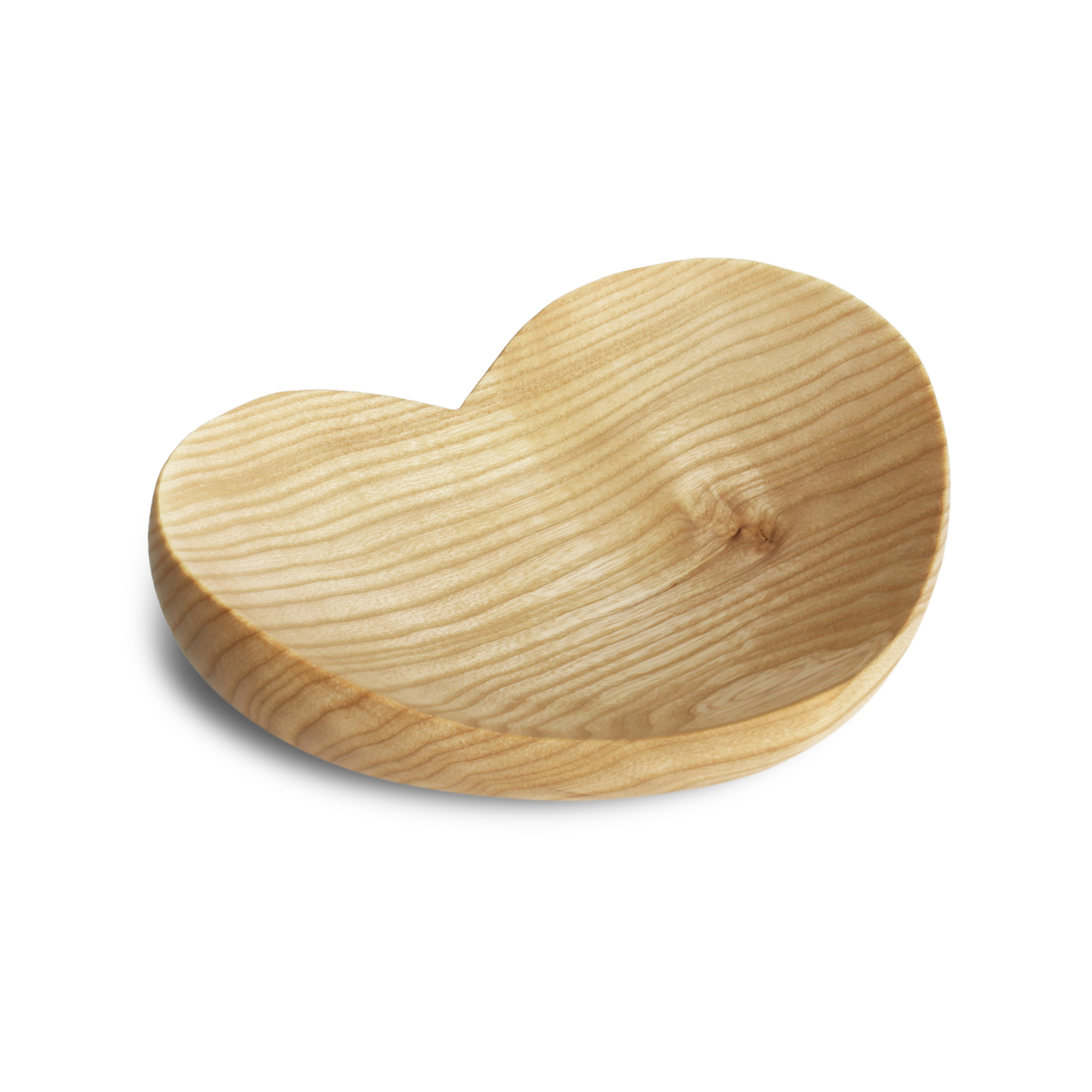 Image for <B>Wooden heart, large </B><I> </I>