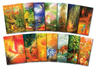 Image for <B>14 Fairy tale postcards </B><I> FT!-14</I>