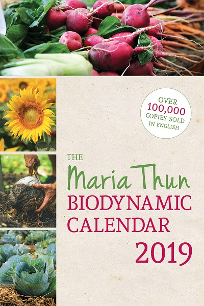 Image for <B>Maria Thun Biodynamic Calendar 2019 </B><I> </I>