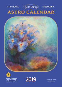 Image for <B>Antipodean Astro Calendar 2019 </B><I> </I>