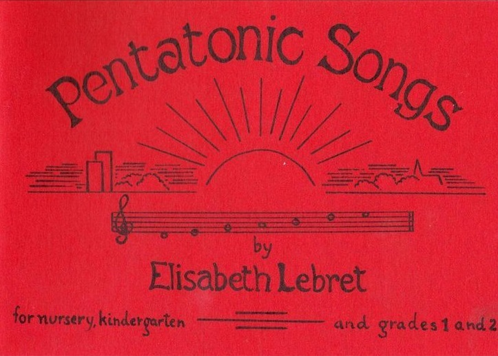 Image for <B>Pentatonic Songs </B><I> For Nursery, Kindergarten and Grades 1 and 2</I>
