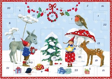 Image for <B>A321 Pippa & Pelle in the Snow: Advent Calendar </B><I> </I>