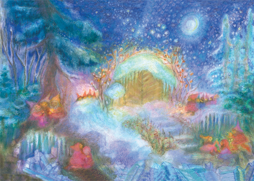 Image for <B>AK111 Christmas with the Gnomes in the Forest: Small Advent Calendar </B><I> </I>
