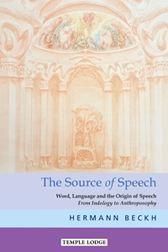 Image for <B>Source of Speech, The </B><I> Word, Language and the Origin of Speech From Indology to Anthroposophy</I>