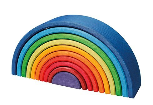 Image for <B>Rainbow Sunset Puzzle Large </B><I> </I>