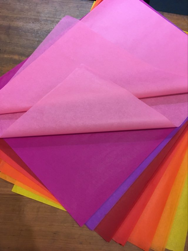 Image for <B>Silk Tissue Paper 8 colours A1 size </B><I> </I>