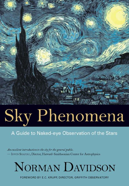 Image for <B>Sky Phenomena </B><I> A Guide to Naked-eye Observation of the Stars</I>