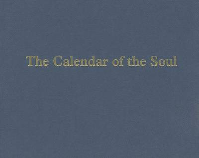 Image for <B>Calendar of the Soul </B><I> </I>