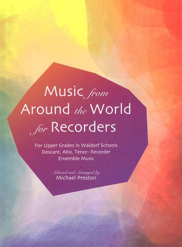 Image for <B>Music from Around the World for Recorders </B><I> </I>