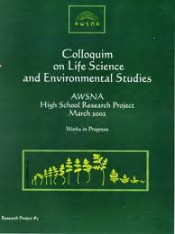 Image for <B>Colloquium on Life Science and Environmental Studies </B><I> AWSNA High School Research Project #05:</I>