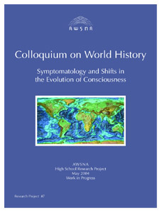 Image for <B>Colloquium on World History </B><I> AWSNA High School Research Project #07:</I>