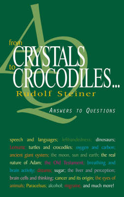 Image for <B>From Crystals to Crocodiles </B><I> Answers to Questions.  Answers to Questions</I>