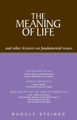 Image for <B>Meaning of Life and Other Lectures on Fundamental Issues, The </B><I> </I>