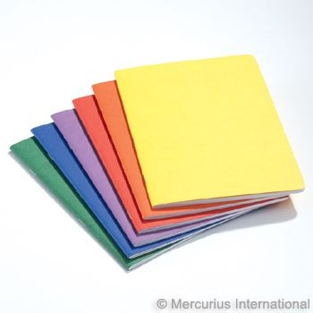 Image for <B>Journal Book Pack of 10 mixed colours </B><I> </I>