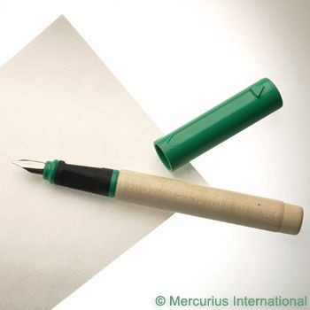 Image for <B>Greenfield Calligraphy Pen Small 1.1mm - Green </B><I> </I>