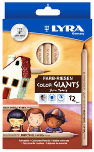 Image for <B>Lyra colour giants skin tones 12 colours, 3931124 </B><I> </I>